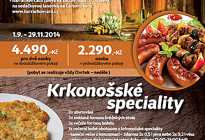 Pork specialities or The Giant Mountains� specialities