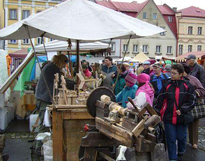 12th Czech craft market under giants in Hostinny