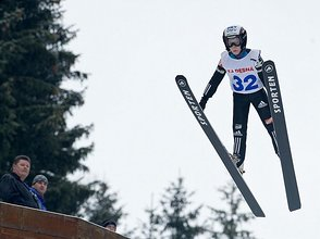 Jumping and Nordic Combination Racing in Harrachov