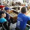 Children's day at the glass factory in Harrachov
