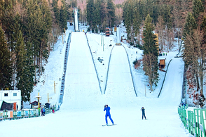 In Harrachov, the ski jumps were restored