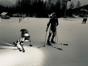 Ski race - SkiMo Harrachov